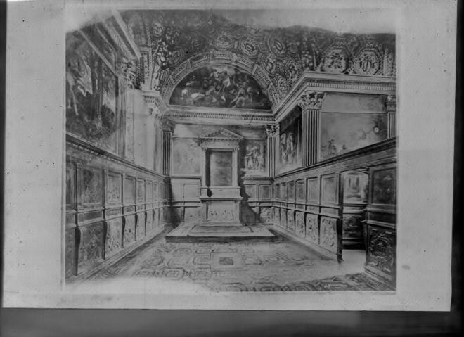 2464 St Etienne le Molard La Bastie La Chapelle état ancien cliché pour la brochure vendue au château