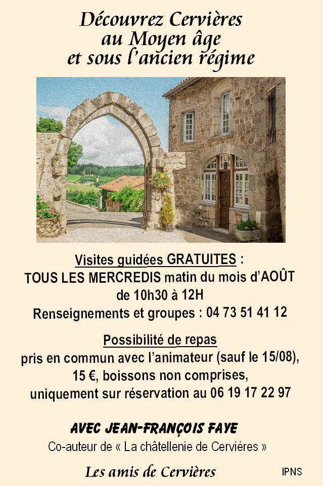 Affiche 2 Visite Cervières