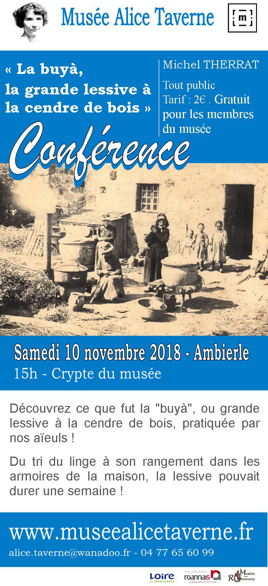 Newsletter conference la buya novembre 2018